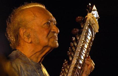 Ravi Shankar (1920-2012) - Source: Nagara Gopal/The Hindu