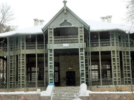 Ziarat Residency Before Destruction  Source: Express Tribune