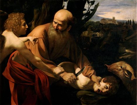 Sacrifice of Isaac by Caravaggio - Source: Wikimedia Commons